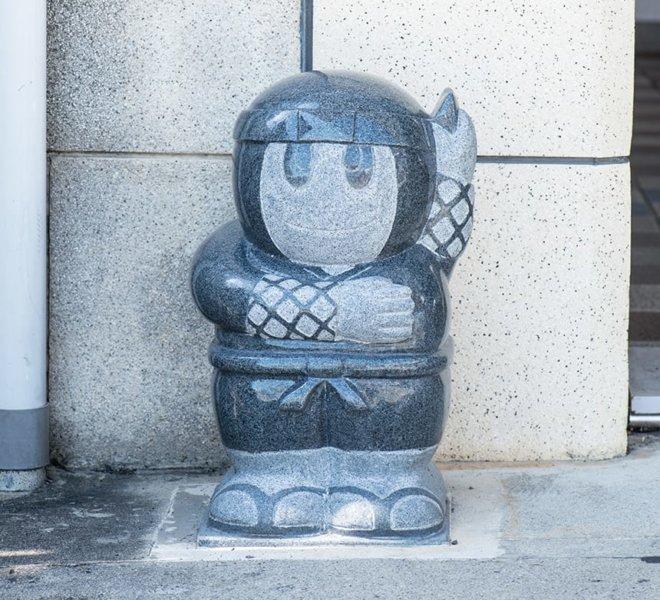 忍者のオブジェ