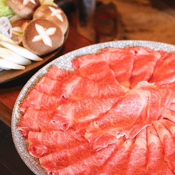 夕食セット 伊賀肉(伊賀牛)の奥田